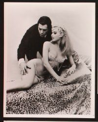 3j041 KISS THE OTHER SHEIK 18 8x10 stills '68 Marcello Mastroianni & sexiest Pamela Tiffin!