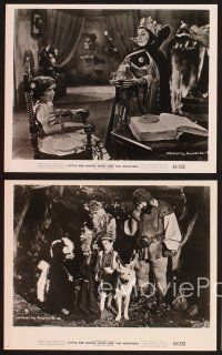 3j047 LITTLE RED RIDING HOOD & THE MONSTERS 17 8x10 stills '64 lots of fairy tale images!