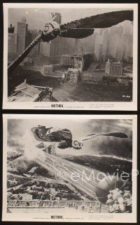 3j060 MOTHRA 16 8x10 stills '62 Mosura, Toho, Ishiro Honda, cool special effects monster images!