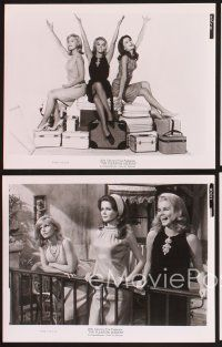 3j077 PLEASURE SEEKERS 15 8x10 stills '65 sexy Ann-Margret, Carol Lynley & Pamela Tiffin!