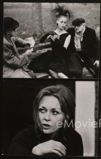 3j038 PUZZLE OF A DOWNFALL CHILD 19 7.5x9.5 stills '71 many images of sexy Faye Dunaway, Scheider!