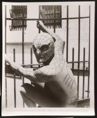 3j005 SPIDER-MAN 38 8x10 stills '77 Marvel Comic, great images of Nicholas Hammond as Spidey!