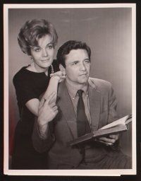 3j039 TRIALS OF O'BRIEN 19 TV 7x9 stills '65 Peter Falk, Joanna Barnes, includes cool art still!