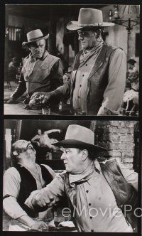 3j061 WAR WAGON 16 8x9.75 stills '67 cowboys John Wayne & Kirk Douglas, Howard Keel, Robert Walker