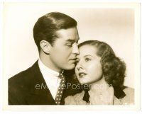 3k006 3 SMART GIRLS 8x10 still '36 romantic close up of Barbara Read & young Ray Milland!