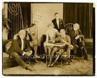 3k012 AFFAIRS OF ANATOL candid 8x10 still '21 Cecil B. DeMille on the set with 5 of the stars!