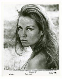 3k019 ALEXANDRA STEWART 8x10 still '67 head & shoulders c/u of the sexy actress from Maroc 7!