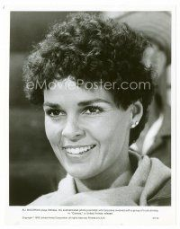 3k020 ALI MACGRAW 8x10 still '78 head & shoulders smiling portrait with short hair from Convoy!