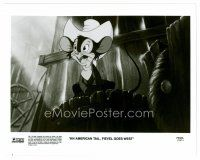 3k026 AMERICAN TAIL: FIEVEL GOES WEST 8x10 still '91 animated cartoon mouse cowboy western!