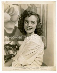 3k027 ANABEL SHAW 8x10 still '47 pretty waist-high smiling portrait from Killer at Large!