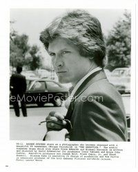 3k030 ANDREW STEVENS 8x10 still '82 head & shoulders c/u as creepy photographer from Seduction!