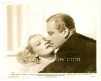 3k032 ANGEL 8x10 still '37 c/u of Melvyn Douglas about to kiss Marlene Dietrich, Ernst Lubitsch