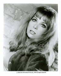 3k035 ANGELIQUE PETTYJOHN 8x10 still '69 close up fo the sexy actress from Hell's Belles!