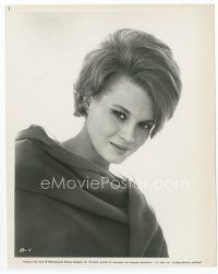 3k036 ANGIE DICKINSON 8x10.25 still '64 head & shoulders close up of the beautiful actress!