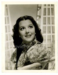 3k040 ANN RUTHERFORD 8x10 still '40s head & shoulders smiling portrait of the pretty actress!