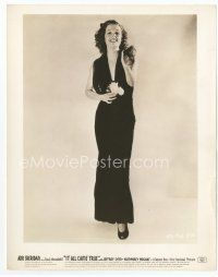 3k041 ANN SHERIDAN 8x10 still '40 incredible full-length sexy portrait from It All Came True!