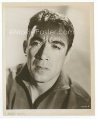 3k046 ANTHONY QUINN 8x10 still '56 great head & shoulders portrait of the leading man!