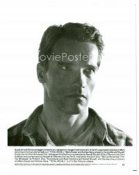 3k050 ARNOLD SCHWARZENEGGER 8x10 still '90 great head & shoulders close up from Total Recall!