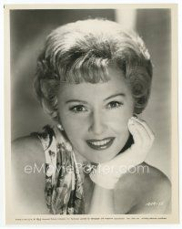 3k064 BARBARA STANWYCK 8x10.25 still '65 head & shoulders smiling portrait from The Night Walker!