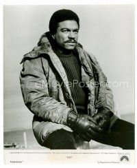 3k072 BILLY DEE WILLIAMS 8x9.75 still '73 great seated close up looking tough from Hit!