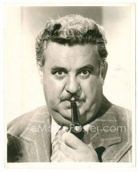 3k073 BILLY GILBERT deluxe stage play 8x10 still '39 great c/u smoking pipe from Gypsy Baron opera!
