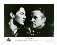 3k078 BLUE VELVET 8x10 still '86 close up of Kyle McLachlan & sadistic Dennis Hopper!