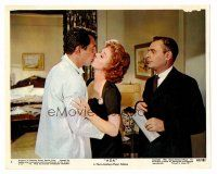 3k010 ADA color 8x10 still #4 '61 Martin Balsam watches Susan Hayward & Dean Martin kiss!