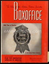 3r066 BOX OFFICE exhibitor magazine April 26, 1952 Pride of St. Louis, Anything Can Happen!