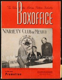 3r069 BOX OFFICE exhibitor magazine May 16, 1953 Beast from 20,000 Fathoms & lots of 3-D!