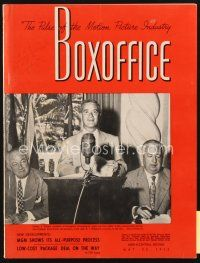 3r070 BOX OFFICE exhibitor magazine May 23, 1953 It Came From Outer Space & lots of 3-D!