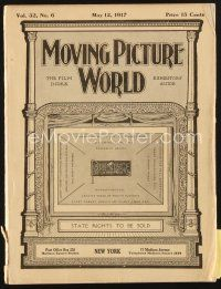 3r062 MOVING PICTURE WORLD exhibitor magazine May 12, 1917 Pickford, Fatty Arbuckle, Harold Lloyd!