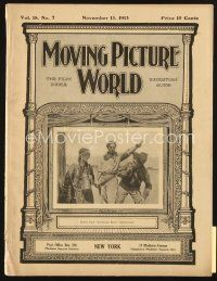 3r057 MOVING PICTURE WORLD exhibitor magazine Nov 15, 1913 1st Robin Hood, Last Days of Pompeii!