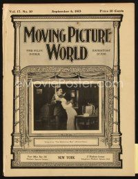 3r056 MOVING PICTURE WORLD exhibitor magazine September 6, 1913 Vitagraph, Lubin, Selig, Keystone