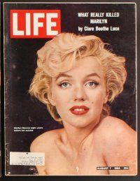 3r034 LOT OF 7 LIFE MAGAZINES '64-72 The Beatles, Marilyn Monroe, James Bond, Woodstock & more!