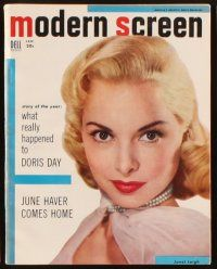 3r028 LOT OF 10 MODERN SCREEN MAGAZINES '53-54 Liz Taylor, Janet Leigh, Ava Gardner & more!