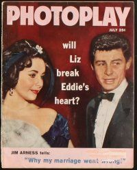 3r031 LOT OF 11 PHOTOPLAY MAGAZINES '59 Liz Taylor, Doris Day, Debbie Reynolds, Curtis & Leigh!