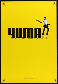 3y012 3:10 TO YUMA DS teaser 1sh '07 Russell Crowe & Christian Bale in remake!