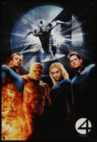 3y014 4: RISE OF THE SILVER SURFER teaser 1sh '07 Jessica Alba, Michael Chiklis, Chris Evans!