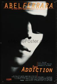 3y024 ADDICTION int'l 1sh '95 Christopher Walken, Abel Ferrara, super close up of Lili Taylor!