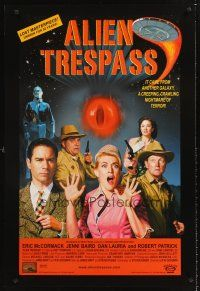 3y038 ALIEN TRESPASS DS 1sh '09 creepying, crawling nightmare of terror, can mankind be saved!