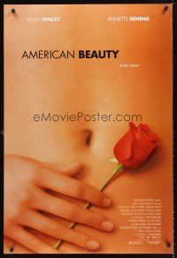 3y040 AMERICAN BEAUTY DS 1sh '99 Sam Mendes Academy Award winner, sexy close up image!