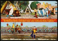4b041 ADVENTURES OF ASTERIX German '76 French cartoon, cool artwork!