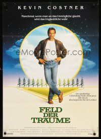 4b073 FIELD OF DREAMS German '89 Kevin Costner baseball classic, if you build it, they will come!