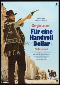 4b075 FISTFUL OF DOLLARS German R73 Sergio Leone, Clint Eastwood is perhaps most dangerous man!