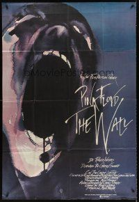 4b004 WALL Spanish 37x54 '82 Pink Floyd, Roger Waters, classic rock & roll artwork!