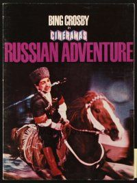4c050 CINERAMA'S RUSSIAN ADVENTURE program '66 documentary narrated by Bing Crosby!