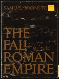 4c053 FALL OF THE ROMAN EMPIRE program '64 Anthony Mann, Sophia Loren, lots of great content!