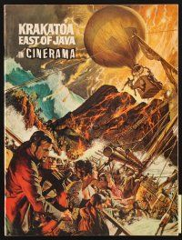 4c060 KRAKATOA EAST OF JAVA program '69 the day that shook the Earth to its core, Cinerama!