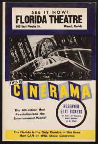 4c010 THIS IS CINERAMA 10x15 special R61 revolutionized the entertainment world, Leydenfrost art!