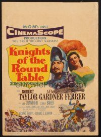 4c004 KNIGHTS OF THE ROUND TABLE WC '54 Robert Taylor as Lancelot, sexy Ava Gardner as Guinevere!